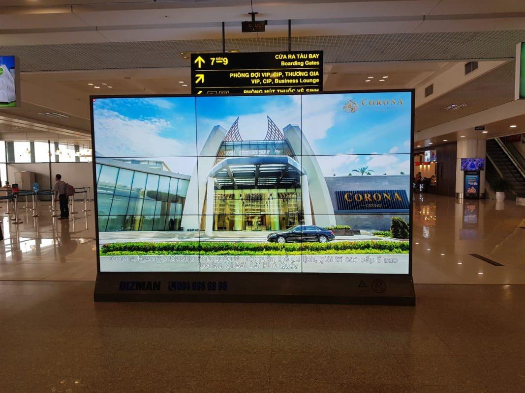 dịch vụ quảng cáo tại sân bay