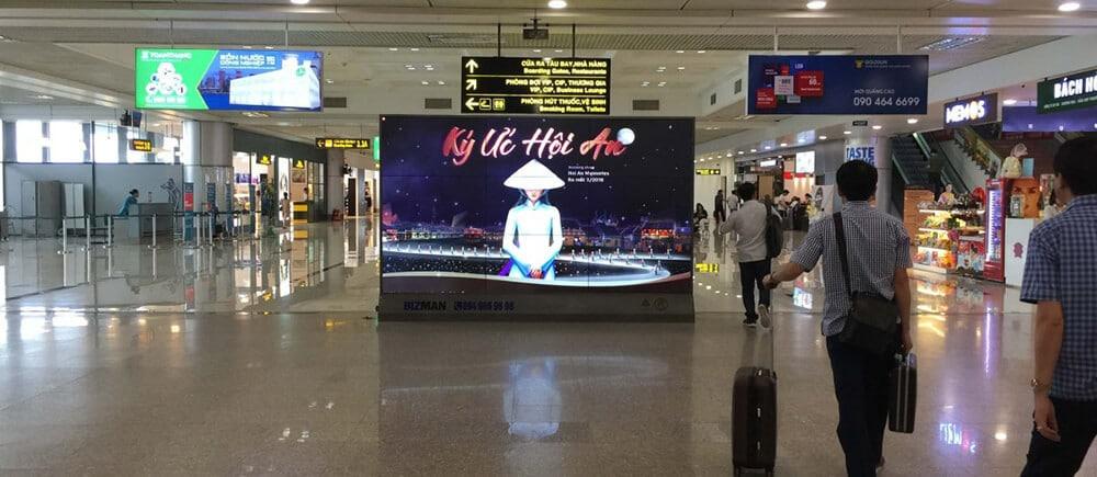QC màn hình LED sân bay